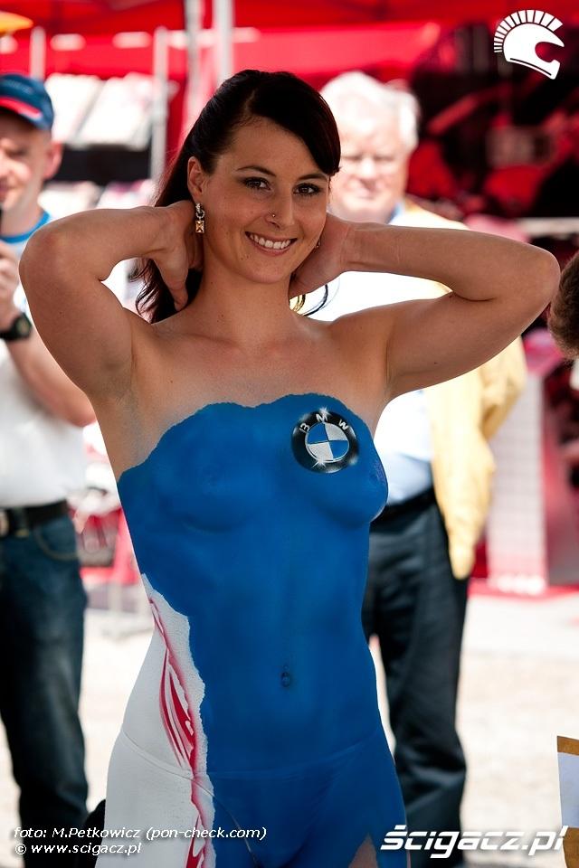 Zdjęcia: body painting dni bmw - BMW Motorrad Days 2009