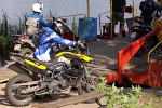 wjazd na prom BMW GS Trophy 2011