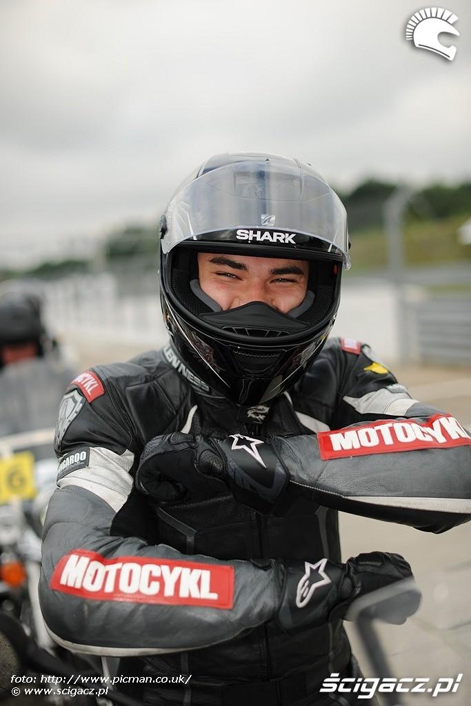 Michal janiszyn motocykl