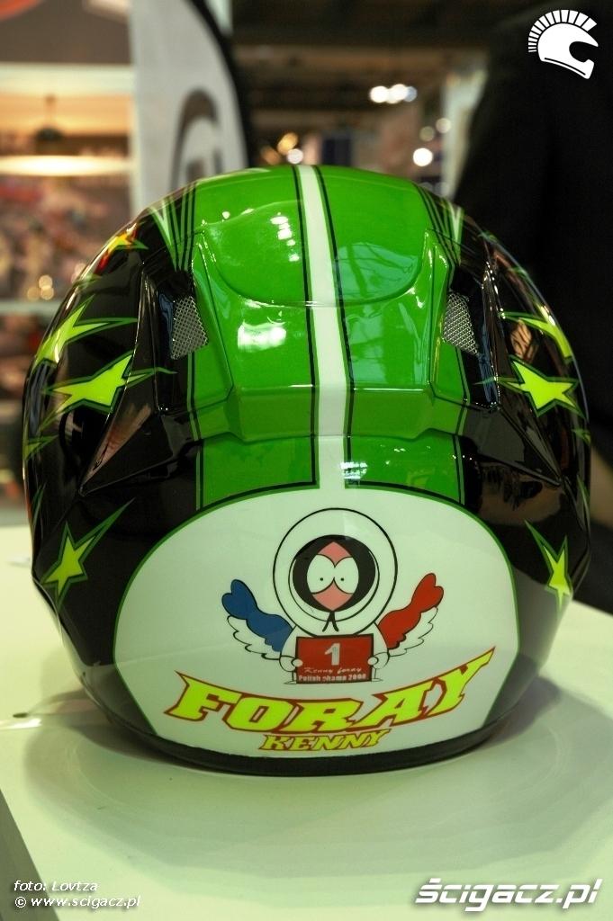 EICMA Milan 2009 Foray Helment