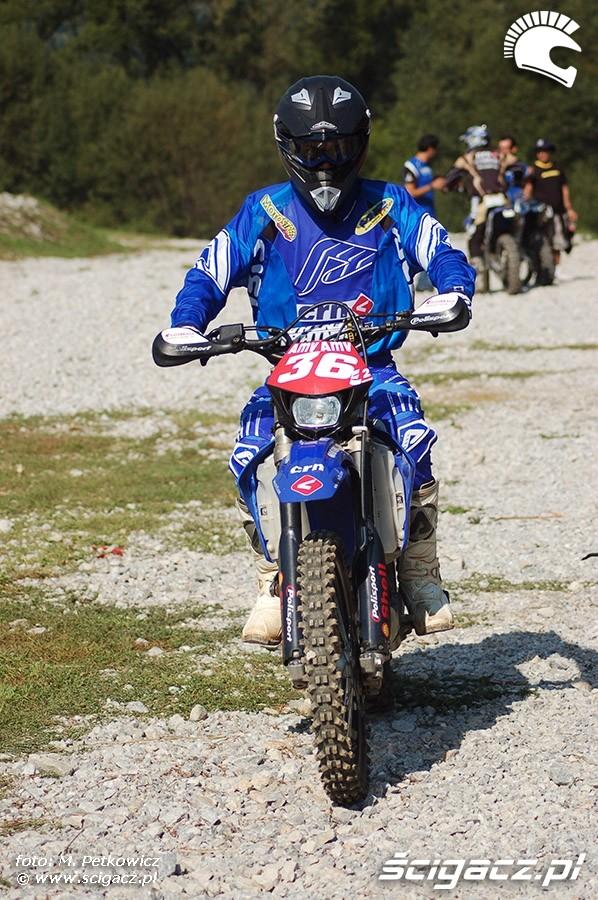 trening testy motocykla