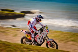 Kuba Przygonski 2012 Dakar