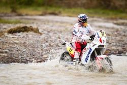 przeprawa przez wode na motocyklu