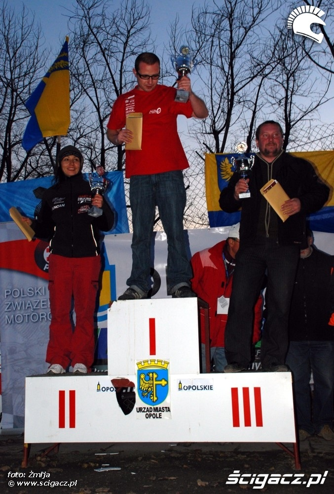 Mistrzostwa Polski Enduro 2008 mistrzowie na podium