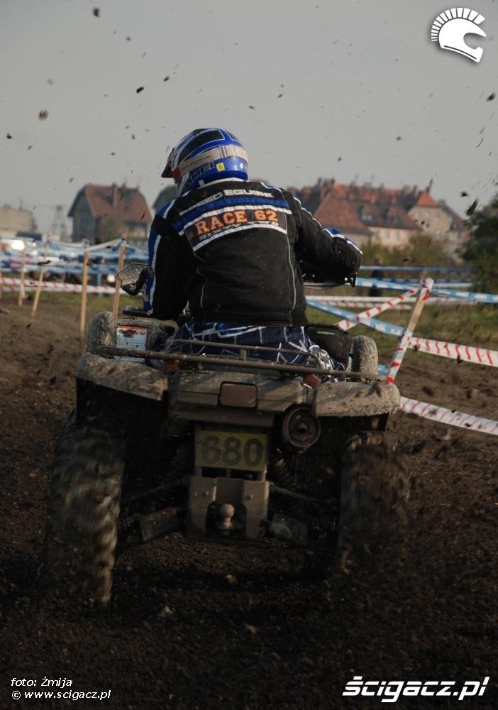 Mistrzostwa Polski Enduro 2008 w Opolu atv od tylu