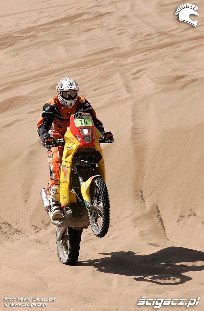 Rajd Dakar 2010 opuszcza pustynie 2