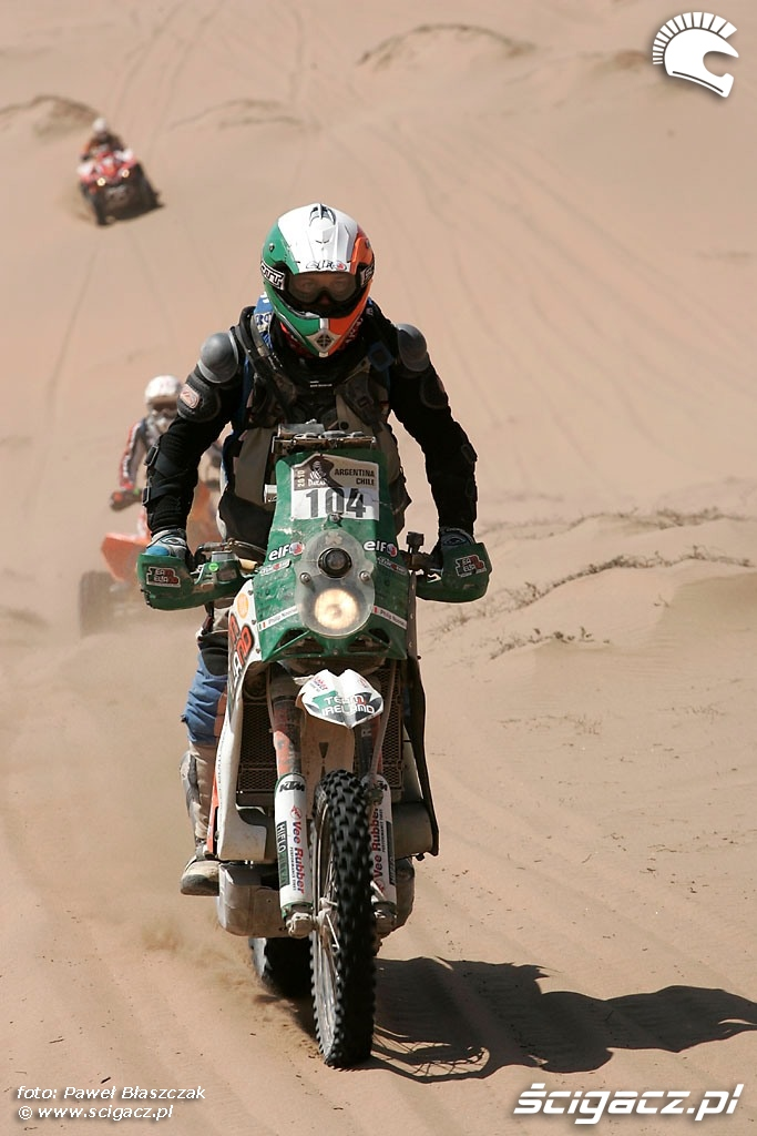 Rajd Dakar 2010 opuszcza pustynie KTM