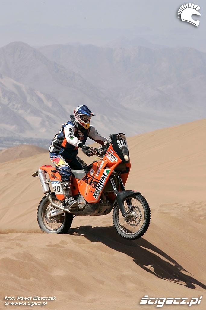 Rajd Dakar 2010 opuszcza pustynie XAdventure