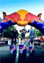 Red Bull Romaniacs 2012 podium