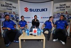 Suzuki Grandys Duo Team i Pejser