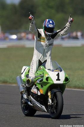 TOMEK Kedzior mistrz polski Superbike