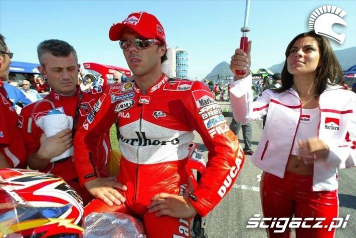 2004 Capirossi pole startowe