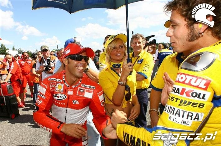 2006 Capirossi Rossi pole startowe