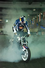 Chris Pfeiffer Zurich stall burnout 2