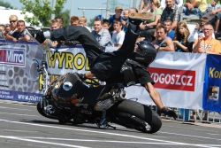 Bejamin Baldini wypadek na motocyklu