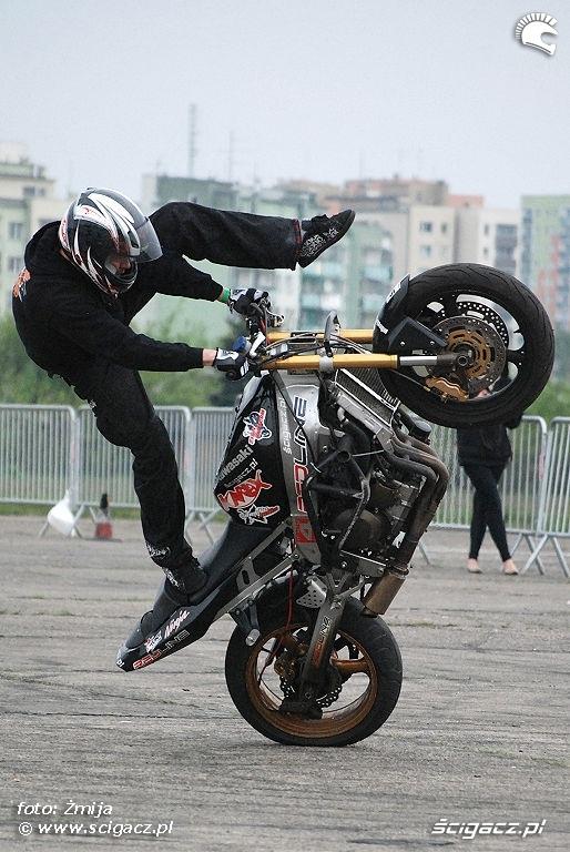 Mok stunt pokaz lotnisko