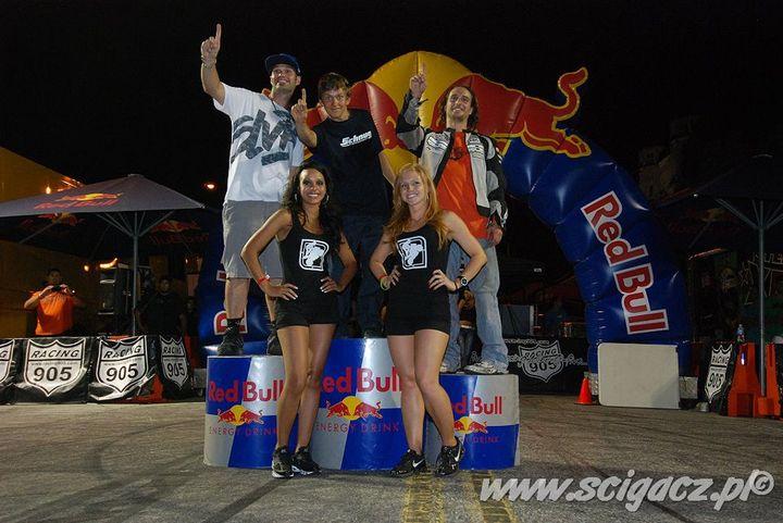 podium XDL w Indianapolis