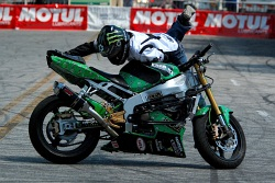 Shin XDL stunt rider