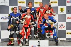 Podium Suzuki GSX-R Cup race 2