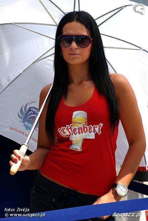 dziewczyna Honda Effenbert Brno WSBK 2010