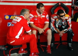 Ducati Xerox Team box