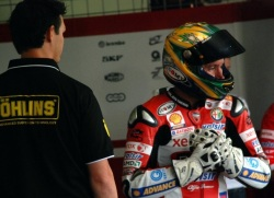 World Superbike tor Brno Troy Bayliss