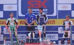 podium superbike wyscig 1 monza 2011