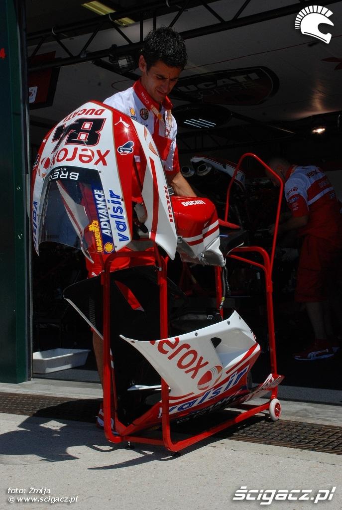 owiewki Ducati 1098R