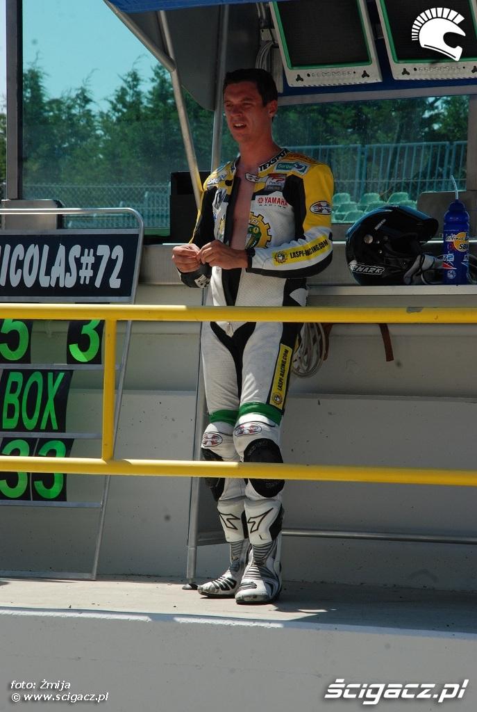 zawodnik Laspi Racing