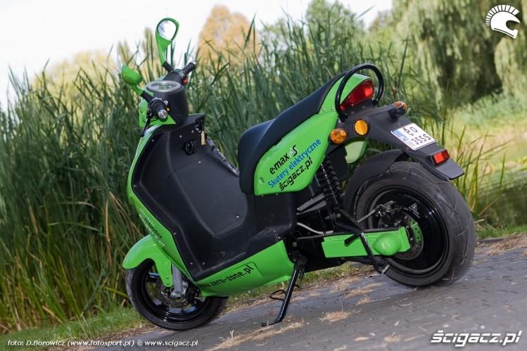 Zdjęcia Ermax Elektryczny Skuter Test Mg 0026 Motocykle