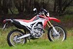 prawy tyl Honda CRF 250L