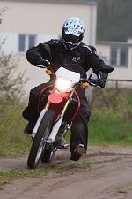 zwirowka zakret Honda CRF 250L
