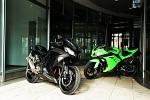 ninja 300 2013 czarny i zielony