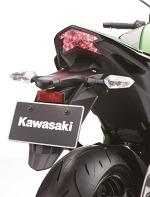 Kawasaki Z800 2013 lampa z tylu
