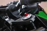 Kawasaki Z800 2013 regulacja przedniego zawieszenia