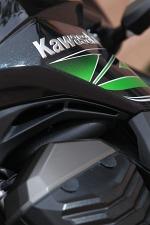 Kawasaki Z800 2013 z bliska