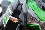 Kawasaki Z800 agresywny przod