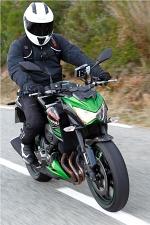 Kawasaki Z800 przod dynamika
