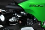Kawasaki Z800 regulacja tylnego zawieszenia