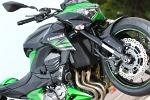 Kawasaki Z800 z bliska