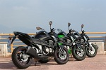 Trzy razy Kawasaki Z800