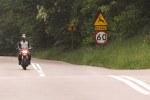 przejazd kolejowy Ducati Hyperstrada