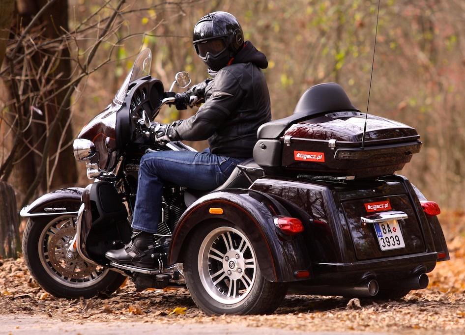 Harley Davidson Three Wheeler