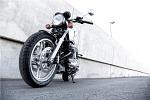 Przyparta do muru Honda CB1100