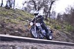Szybkie zakrety Honda CB1100 2013