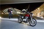 Walencja noca Honda CB1100 2013