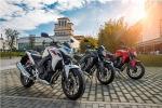 Kolorystyka Honda CB500F 2013