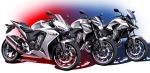 Rodzina Honda CB500F 2013