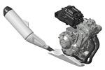 Silnik 3D Honda CB500F 2013