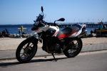 Motocykl BMW na plazy